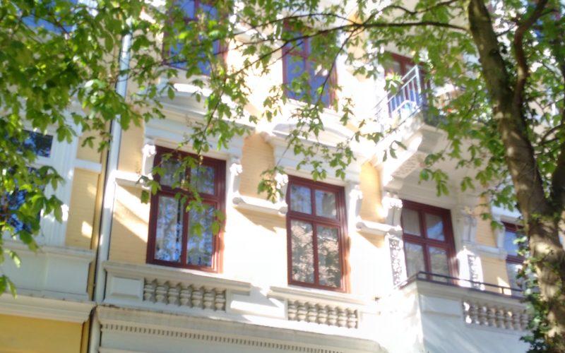 Haus Fassade Jugendstil; Immobilienkauf