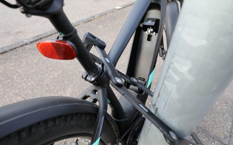 E-Bike vor Diebstahl sichern