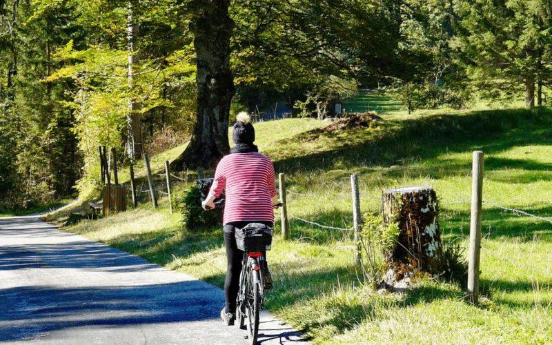 Radfahren ist gut für den Rücken