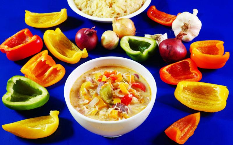 Sauerkrautsuppe mit Chili